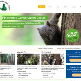 New Pinewoods Web Site Launched